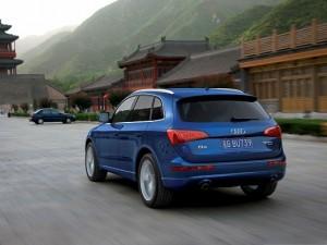Best Cars Picture, Blue Super Car Among Nature Landscape, Green Hills