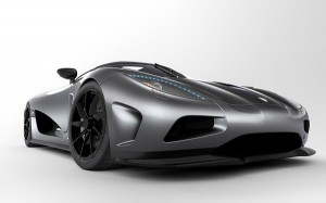 Free Car Wallpapers, Koenigsegg Agera on Gray Background
