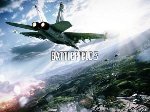 Best Games Wallpaper, Battlefield Air Combat, Fly Among Great Nature Landscape