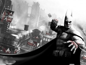 Movie Wallpaper Free, Batman Arkham City, Fight to Blood, Never Step Back