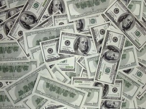 Free Scenery Wallpaper - A Pile of 100 Dollar Bills, Satisfied Even by Looking at Them