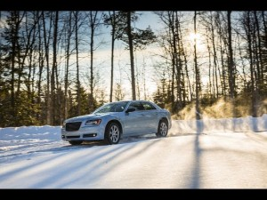 Images of Decent Car, Chrysler 300 Seen from Side Angle, the Rising Sun, Combine a Great Scene