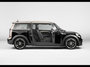 Admirable Car Images of Mini Clubman, Its Doors Are Open, Small Yet Powerful