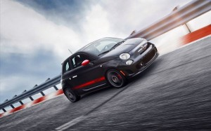 Fiat Car Running in Full Speed on a Bridge, Looking Really Good in This, Driving Experience Must be Unbelieveable - HD Cars Wallpaper