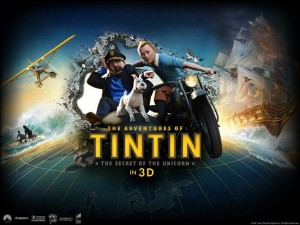 The Adventures of Tintin 3D Available in 1600x1200 Pixel, Motorcar is Breaking in, Does It Hurt or Fright You? - TV & Movies Wallpaper