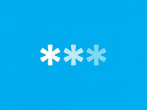 Simple and Impressive Wallpaper, 3 Colorful Asterisks on Blue Background, Multiple Purposes