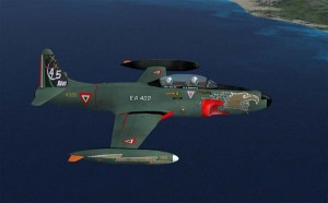 Air Shows Photo, Fuerza Aerea Mexicana T-33A in Flight