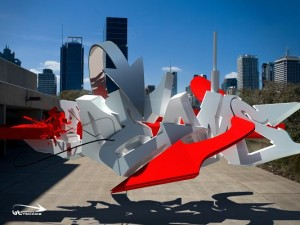 3D Abstract Items, a Fake Aeroplane in the Fly, Taking Your Dreams
