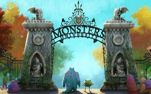 Monsters University in 2560x1600 Pixel, The Two Guys Are Smart Enough to Choose the Schppl, They Can be Masters Here - TV & Movies Wallpaper