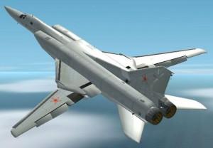 Aeroplanes Show Paris, Tupolev TU-22M3 in Flight