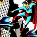 Free Cartoon Pic, Superman Fighting Against the Evil, Put an End to Them